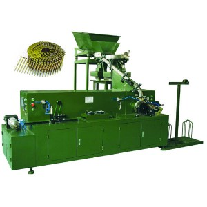 Wholesale OEM Automatic Coil Nails Collator Coil Nail Making Machine For Wood Pallet