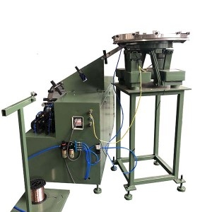 wooden pallet coil nail making machine