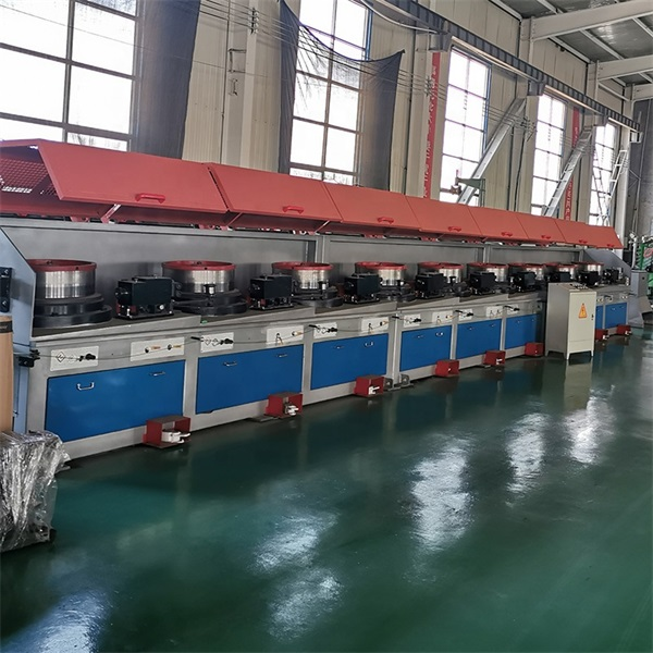 Straight Line Continuous Wire Drawing Machine Featured Image